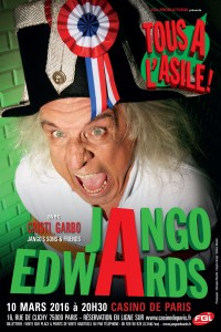 Boutique Affiche Jango Edwards
