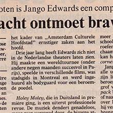 1990.09.17_Jango Edwards_Pays Bas_VOLKSKRANT_220x220