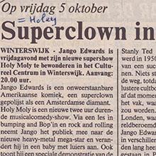 1990.10.03_Jango Edwards_Pays Bas_ACHTERHOEK NIEUWS_220x220