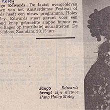 1990.10.04_Jango Edwards_Pays Bas_NIEUWE N.HOLL.KRANT TYPHOON_220x220