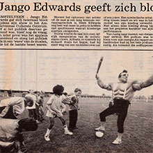 1990.10.24_Jango Edwards_Pays Bas_AMSTELVEENS WEEKBLAD_220x220