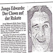 JANGO EDWARDS REVUE DE PRESSE- ALLEMAGNE - 1983 GHEIN POST_220x220