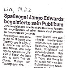 JANGO EDWARDS REVUE DE PRESSE- ALLEMAGNE - 1983 LIVE_220x220
