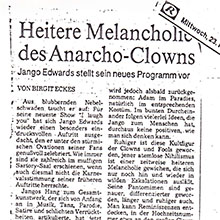 JANGO EDWARDS REVUE DE PRESSE- ALLEMAGNE - 1983 MITTWOCH_220x220