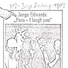 JANGO EDWARDS REVUE DE PRESSE- ALLEMAGNE - 1983 WZ_220x220