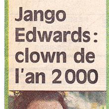 JANGO EDWARDS REVUE DE PRESSE- CANADA- 1988 LA PRESSE_220x220