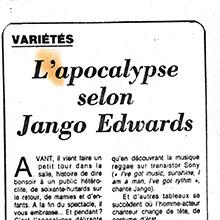 JANGO EDWARDS REVUE DE PRESSE- FRANCE - 1984 LE FIGARO_220x220