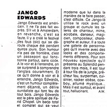 JANGO EDWARDS REVUE DE PRESSE- FRANCE - 1987 ELLE_220x220