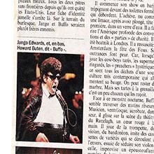 JANGO EDWARDS REVUE DE PRESSE- FRANCE - 1987 L'EXPRESS_220x220