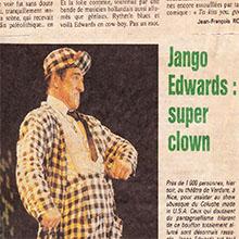 JANGO EDWARDS REVUE DE PRESSE- FRANCE - 1988 NICE MATIN_220x220