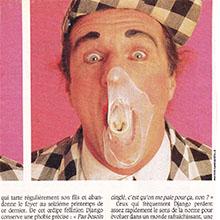 JANGO EDWARDS REVUE DE PRESSE- FRANCE - 1989 L'EVENEMENT DU JEUDI_220x220