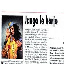 JANGO EDWARDS REVUE DE PRESSE- FRANCE - 1991 GUIDE FAC_220x220