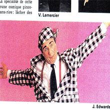 JANGO EDWARDS REVUE DE PRESSE- FRANCE - 1991 JEUNE ET JOLIE_220x220