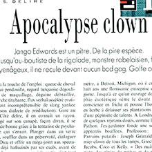JANGO EDWARDS REVUE DE PRESSE- FRANCE - 1991 L'EXPRESS PARIS_220x220
