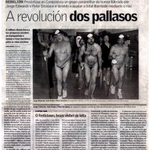 Festiclown and Fools Militia -  Santiago de Compostela S